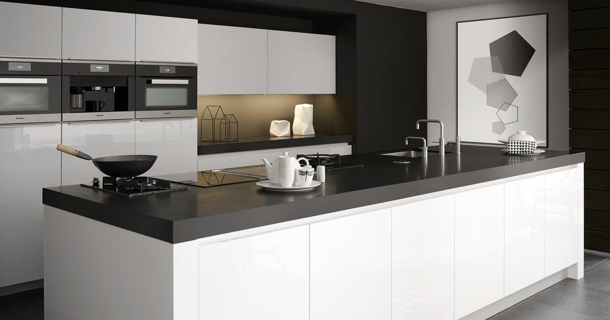 Keller Keukens Tilburg : In deze keller keuken is een combinatie gemaakt